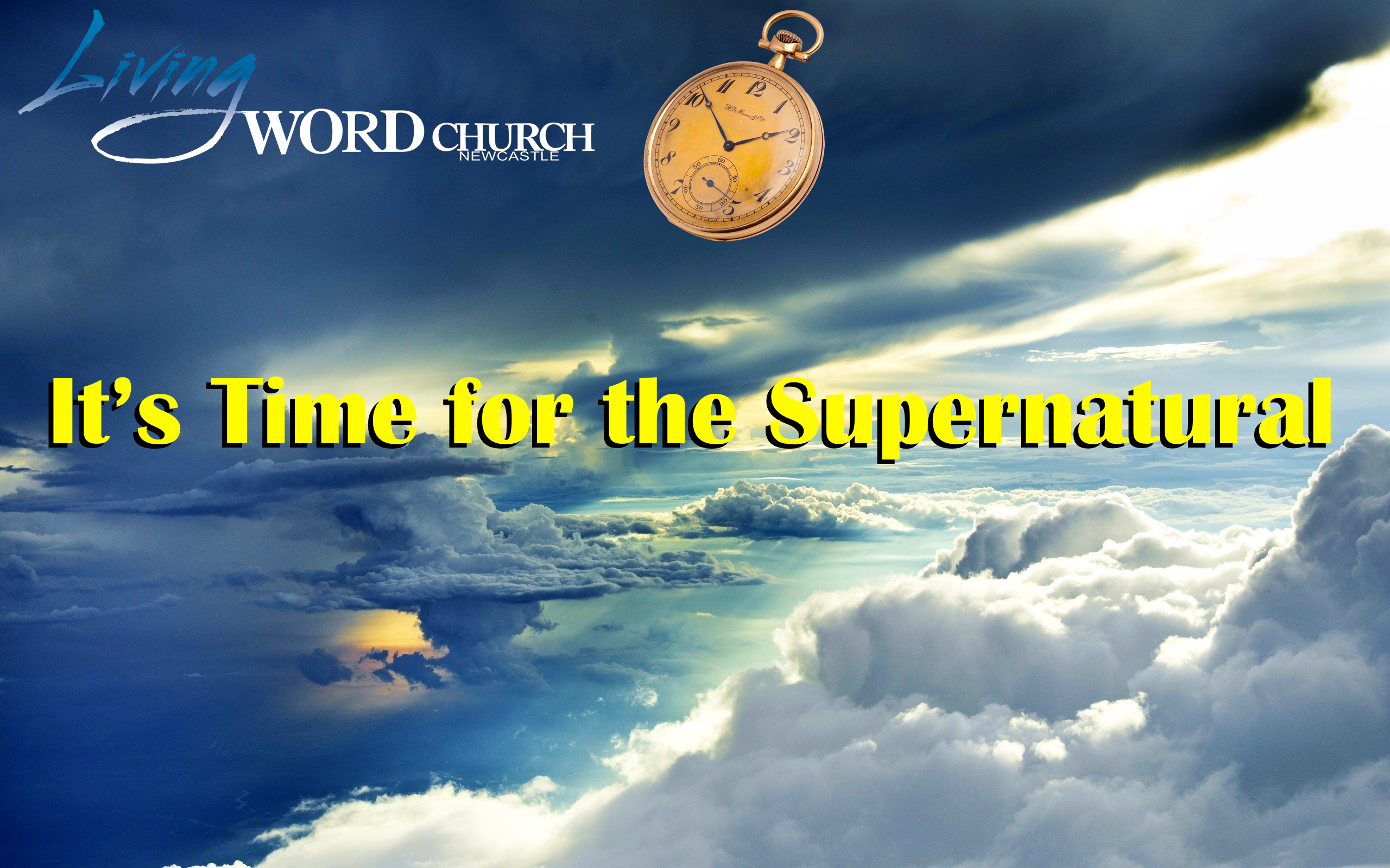 It's Time for the Supernatural (Part 1)