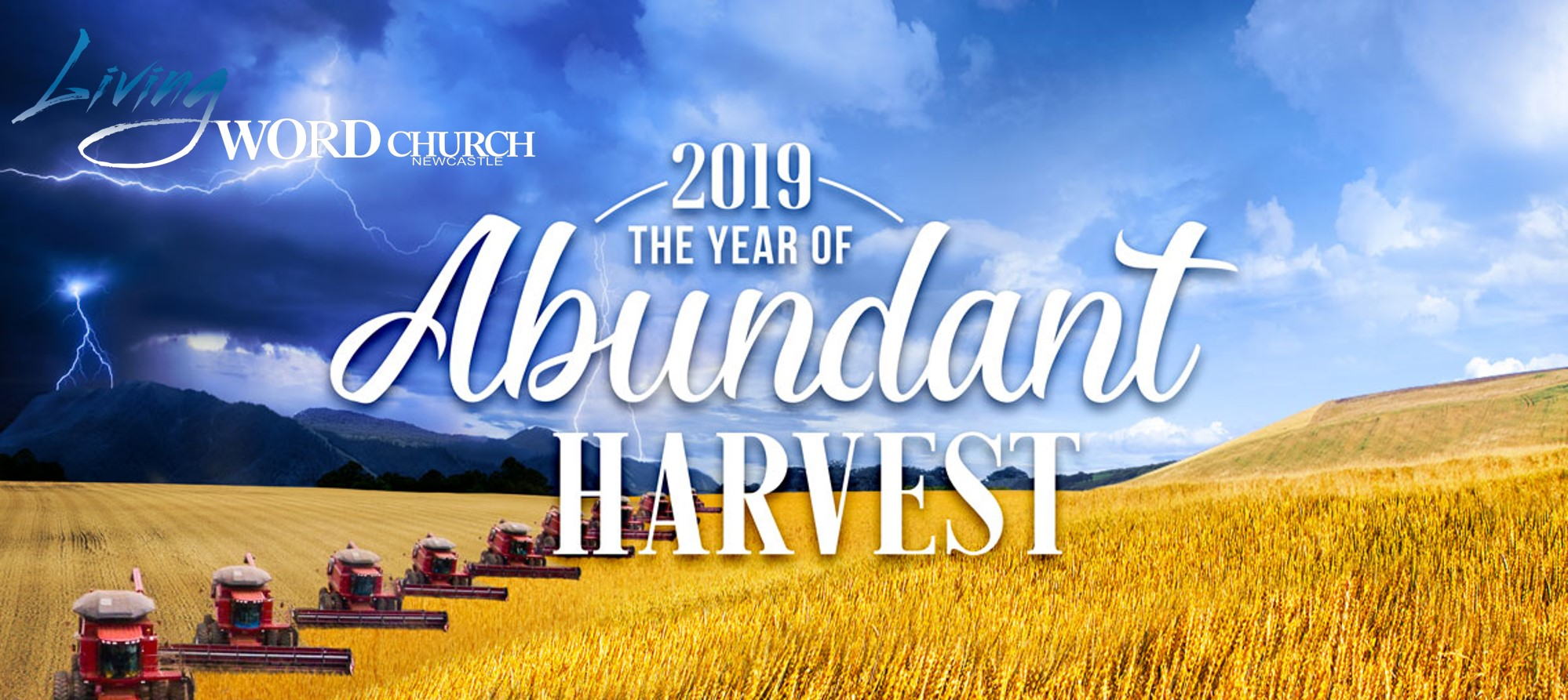 2019 The Year of Abundant Harvest