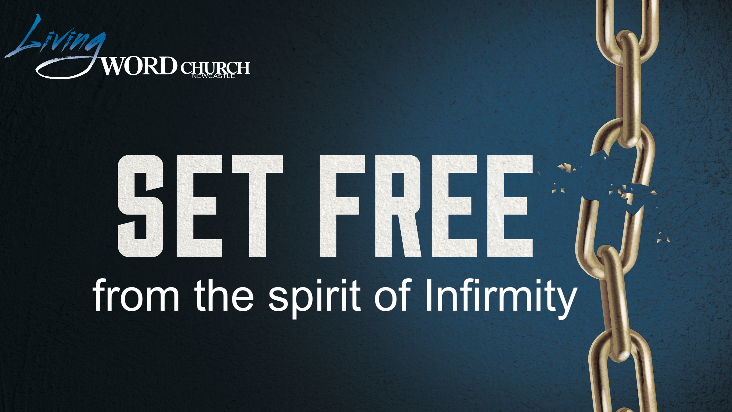 Set Free from a Spirit of Infirmity
