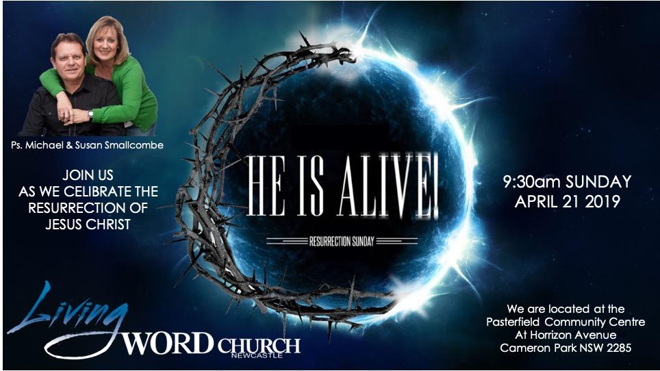 He Is Alive, He Has Risen!